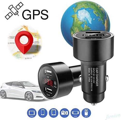 [해외]Lunir Dual USB Digital LED Display Car Charger GPS Tracker Locator Voltmeter Car Chargers / Lunir Dual USB Digital LED Display Car Charger GPS Tracker Locator Voltmeter Car Chargers