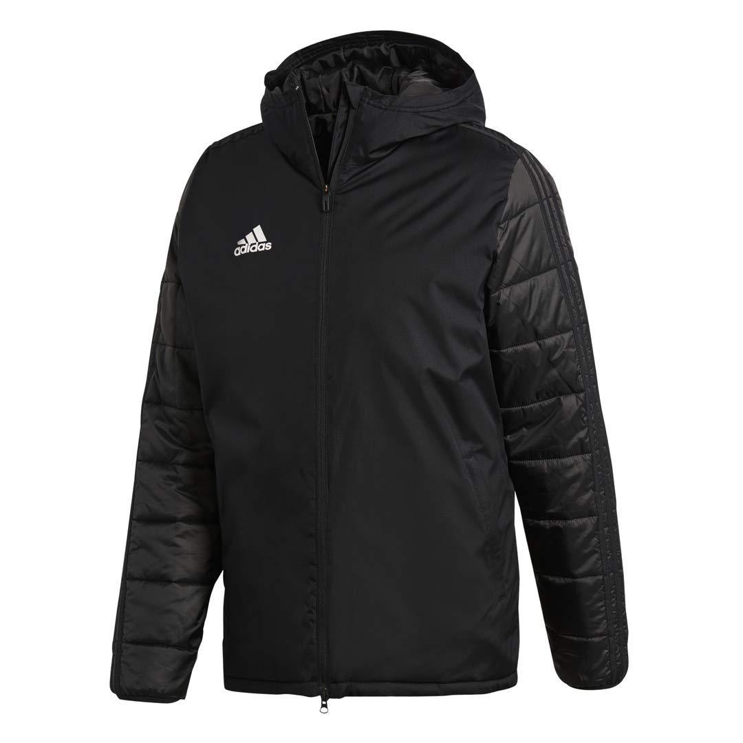 adidas JKT18 Winter Jacket (Large) Black by adidas