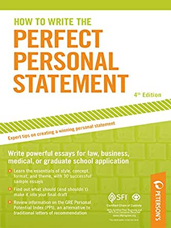 Perfect personal statement
