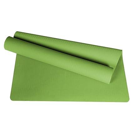 Amazon.com : TYWPYY Yoga mat Thick Wide Yoga mat Suitable ...