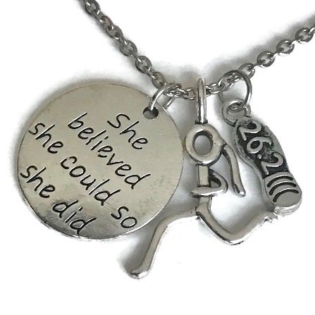 marathon-charm-necklace-with-titanium-chain-by-lolly-llama-perfect-marathoner-pendant-necklaces-with