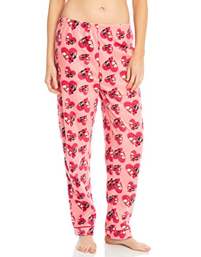 Fleece Womens Sleep Pants Bulldog - Fleece Bulldogs
