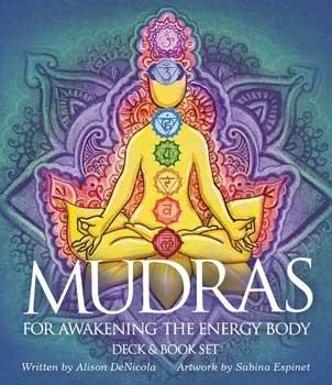 Novelty Toys Tarot Cards Awakening Mudras Energy of Body Color Deck Meditation Gestures Yoga