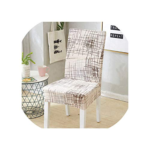 Rchhy Kitchen Chair Cover Flower Printing Removable Chair Cover Dining Seat Cover Slipcover Chair Spandex Furniture Covers 4/6/8pcs,Color 4,8pcs Chair Covers (Covers Furniture Kmart Outdoor)