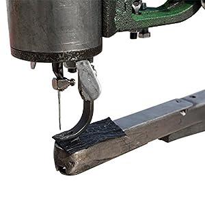 FISTERS Hand Machine Cobbler Shoe Repair Machine Dual Cotton Nylon Line Sewing Machine by Xiamen DuZheng Electronic Commerce Co., Ltd