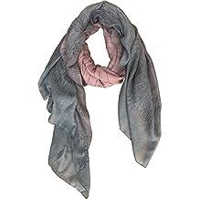 Aumy Lightweight Scarfs Gradient Color Shawl Wrap for Women