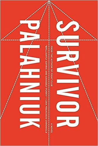 Survivor: A Novel: Chuck Palahniuk: 9780393338072: Amazon