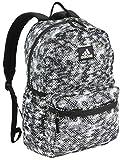 adidas Unisex Hermosa II Mesh Backpack, Flow Blur Grey/Black, ONE SIZE