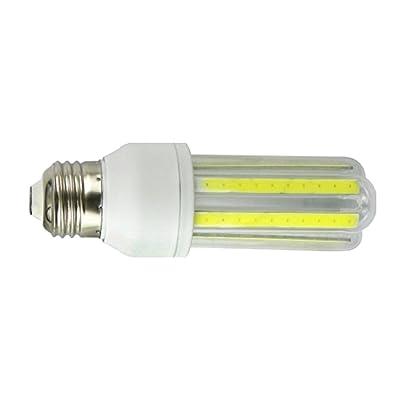 AC 85-265V E27 COB LED Lampe Maïs Ampoule Lumière à Economie Energie - 20W 3000K Jaune, 105MM