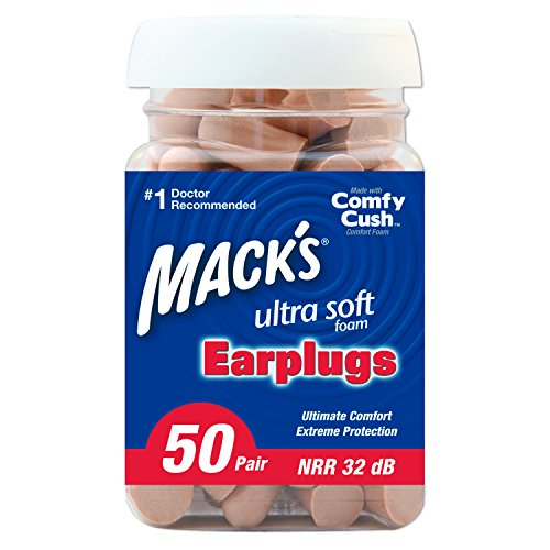 Mack's Ultrasoft Foam Earplugs