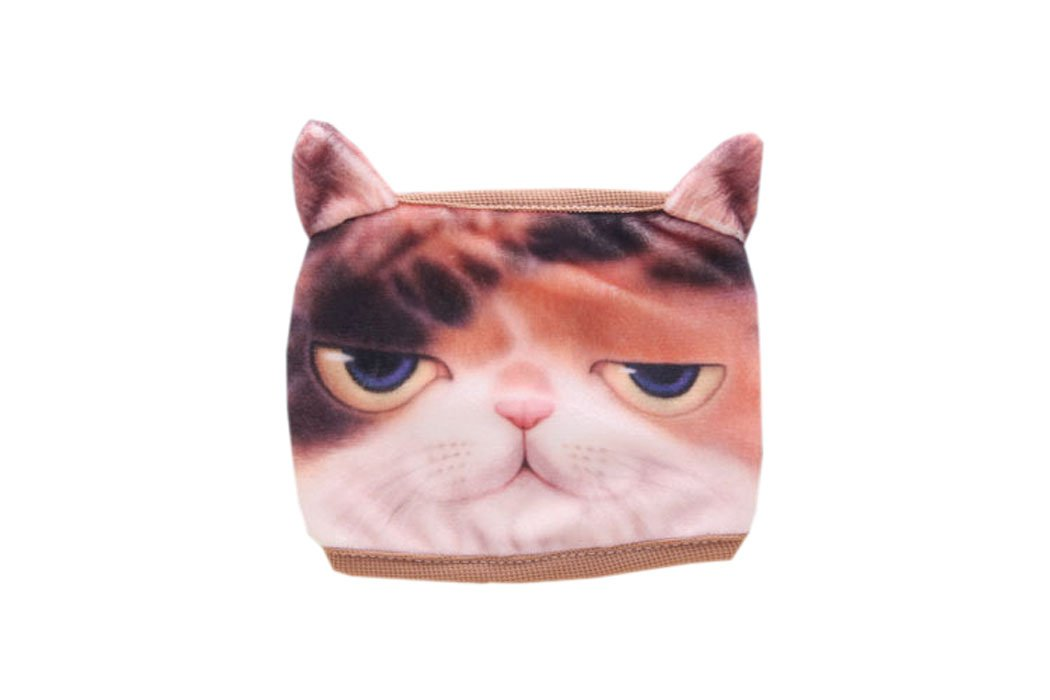 ACVIP Women's Kitty Printed Cotton Fancy Novelty Costume Sanitary Mask (kitty-1)