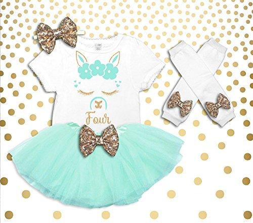 Llama 4th Birthday Outfit Girl Llama Birthday Shirt Llama Birthday Outfit Llama 4th Birthday Tutu 4th Birthday Girl Outfit Llama Shirt by Oliver and Olivia Apparel