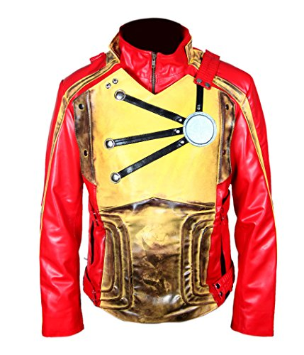 Firestorm Costume Legends Of Tomorrow - F&H Boy's Distressed Legends of Tomorrow Firestorm Jacket L Red