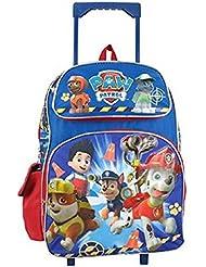 Nickelodeon Paw Patrol Large 16 Rolling Backpack