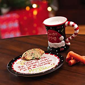 Happy Holly Days Cookies and Cocoa for Santa Gift Set