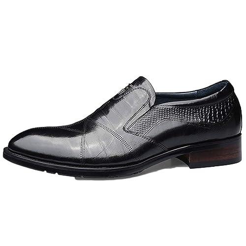 Zapatos Oxford De Los Hombres De Negocios De Color Marrón ...