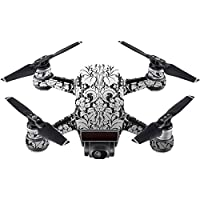 Skin For DJI Spark Mini Drone – Floral Retro | MightySkins Protective, Durable, and Unique Vinyl Decal wrap cover | Easy To Apply, Remove, and Change Styles | Made in the USA