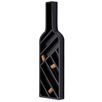 Amazoncom New View Wine Bottle Metal Wall Decor 01 Kh 91468