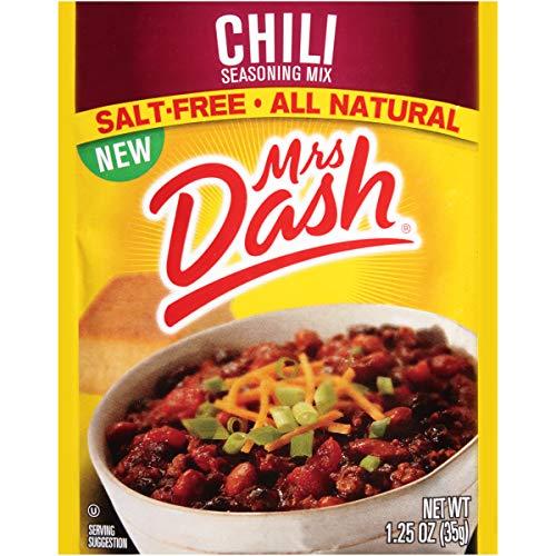 - Mrs. Dash Seasoning Mix, Chili, 1.25 Ounce (Pack of 12)