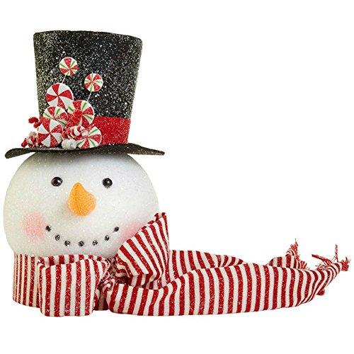 RAZ Imports Hot Chocolate Holiday Snowman Tree Topper 14