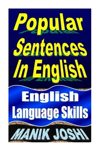 - Popular Sentences In English: English Language Skills (English Daily Use) (Volume 24)