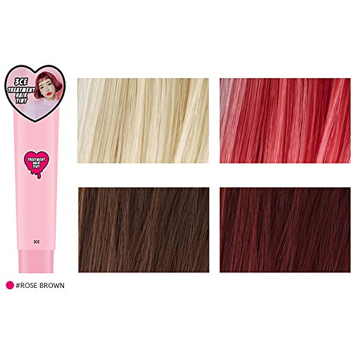 3CE Treatment Hair Tint 5 colors to choose / Newly Launched / Hair color / Stylenanda (Rose Brown)