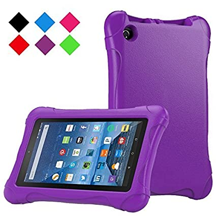Amazon.com: Fire 7 2015 Case,Tinkle ONE Kids Case Shockproof Light Weight Drop Protection Children EVA Case Cover for Amazon Fire 7 Tablet (7 inch Display 5th Generation,2015 Release Only) (Red): Computers & Accessories