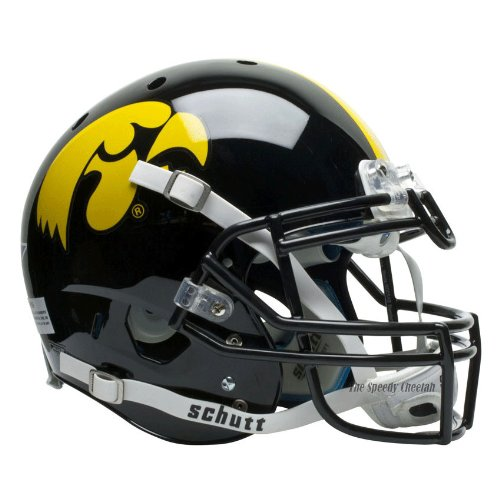 Schutt NCAA On-Field Authentic XP Football Helmet, Iowa Hawkeyes
