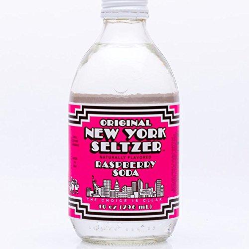 Original New York Seltzer Raspberry, 10 Fluid Ounce (Pack of 12)