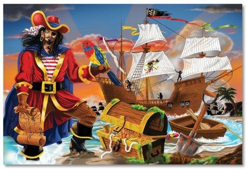 Pirate's Bounty Floor (100 pc) 12