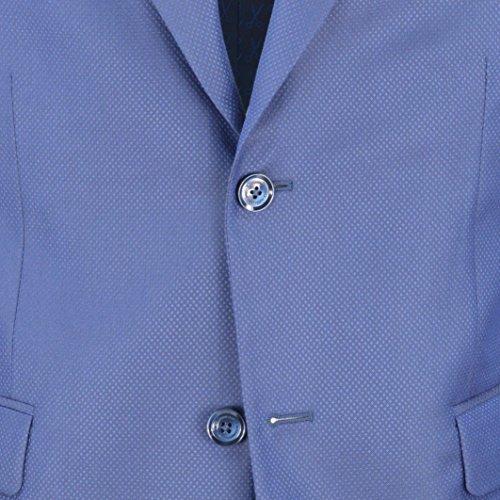 DANIELE ALESSANDRINI GREY - DANIELE ALESSANDRINI GREY uomo abito fantasia blu A044S20853800 3 - 26263
