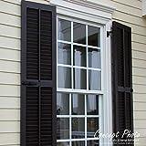 Ekena Millwork TFP101LVF15X033WH True Fit PVC Two