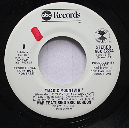 (War Featuring Eric Burden 45 RPM Magic Mountain / Magic Mountain)