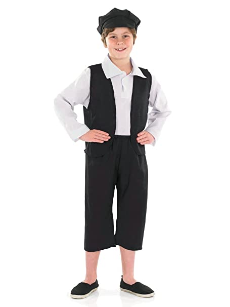 Victorian Kids Costumes & Shoes- Girls, Boys, Baby, Toddler 7-9 Years Victorian Boy Costume $20.09 AT vintagedancer.com