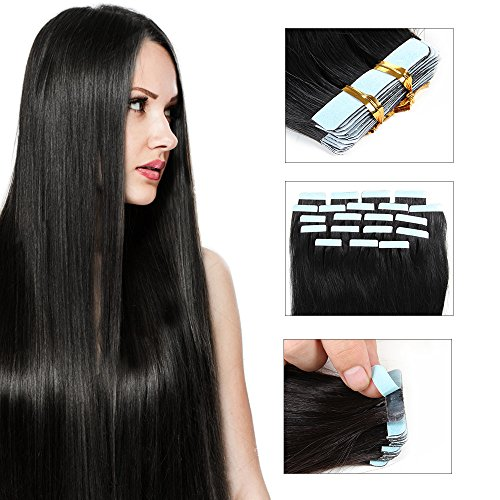 JIAMEISI Extensions Human 1 76oz Straight product image