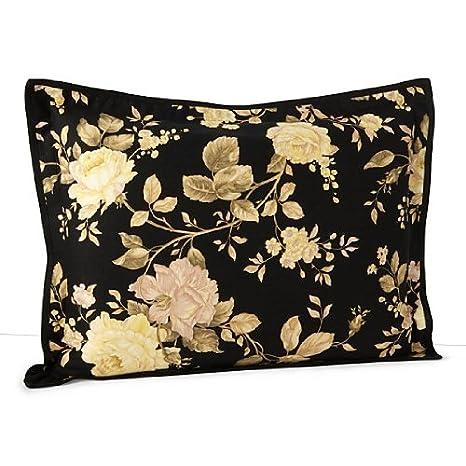 Amazon.com: Ralph Lauren Winter Rose Floral King almohada ...