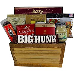 Art of Appreciation Gift Baskets Manly Mans Meat and Snack Attack Gift Basket