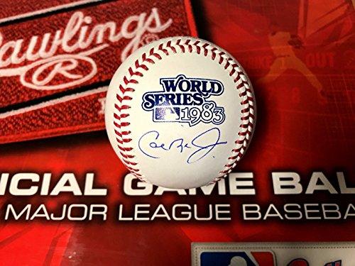 - CAL RIPKEN JR BALTIMORE ORIOLES 1983 WORLD SERIES Autographed Baseball Jsa COA