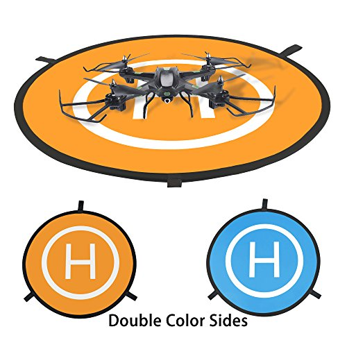 Tairoad-Universal-Drone-Landing-Pad-Portable-Fast-Fold-Mini-Helipad-for-DJI-Mavic-Pro-Phantom-234-Inspire-1-Quadcopters-Gopro-Kama-Parrot-75mm-with-Carrying-Bag