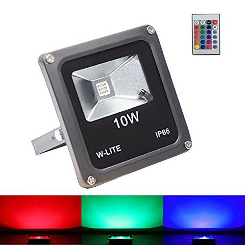 Water Proof LED Flood Light 10W (Black) - 8