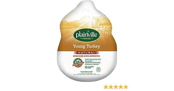 Plainville Farms, Whole Turkey, 16-18 lbs (Fresh): Amazon.com: Grocery & Gourmet Food