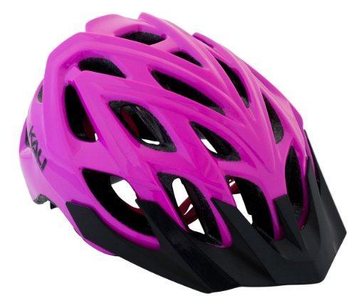 Kali Protectives Chakra Logo Bike Helmet, Pink, Medium/Large
