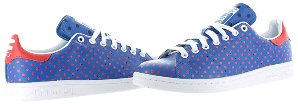quality design 1ef3c 7197d Amazon.com   adidas Originals Pharrell Stan Smith Polka Dot Mens Tennis  Shoes   Tennis   Racquet Sports