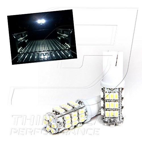 TGP T15 White 42 LED SMD Wedge High Mount Third Brake Stop Light Bulbs Pair 1997-2013 Ford F-250 ALL
