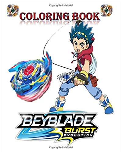 Beyblade team coloring pages - Hellokids.com | 500x400