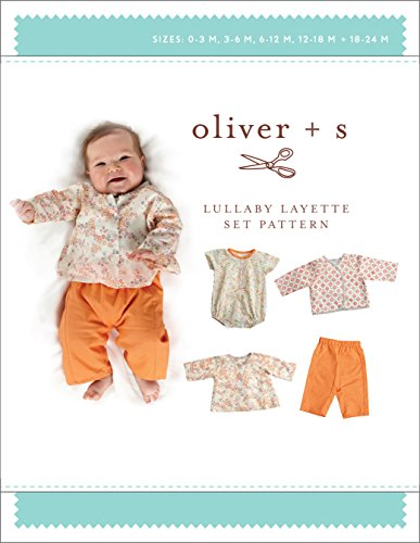 Lullaby Layette Sewing Pattern (Sizes Birth-24 m) Layette Apparel