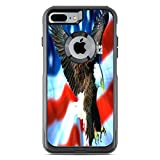 I Love America Quote USA Flag with Eagle Design Print Image Otterbox Commuter iPhone 7 VINYL STICKER DECAL WRAP SKIN