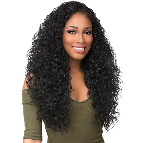 Sensationnel 100% Premium Fiber Instant Weave Boutique Bundle Synthetic Half Wig - DEEP (1B)