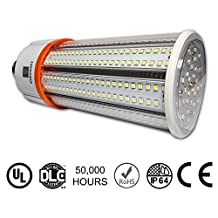 60W LED Corn Light Bulb, Large Mogul E39 Base, 8115 Lumens, 4000K, Replacement for 250W to 400W Metal Halide Bulb, HID, CFL, HPS