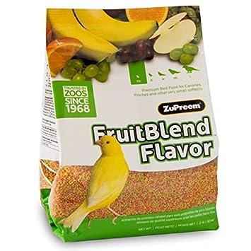 Zupreem pienso Multifrutas para Canarios y pinzones: Amazon.es: Productos para mascotas